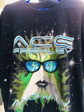 Ace Frehley ANOMALY VIP Tour T Shirt Kiss Band OOP Vintage Small 2009 Concert