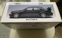 AUTOart 1:18 Mercedes-Benz 190E 2.5-16V EVO2 Metallic Black RARE