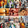 Couple Lover DIY Paint By Numbers Kit Digital Oil Painting Wall Art Home Decor