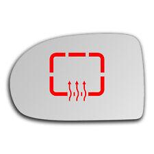 Left Side Clip On Heated Mirror Glass for Dodge Caliber 2007 - 2012 0663LSHP