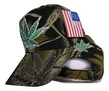 Camouflage Camo Weed Marijuana 420 Joint Blunt Pot Refer Hat Cap
