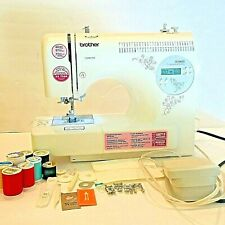 Brother SC6600 Computerized Sewing Machine With Pedal, Threads and more, Tested