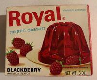 Vintage 1960's Royal Gelatin Jello Dessert Full NOS Sealed Unopened Box