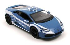 Lamborghini Huracan LP610-4 Police Car Model by Kinsmart 1:36 Scale Diecast NEW