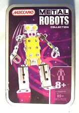 Meccano - Metal Robot 891400A - Complete with Metal Storage Container - Used