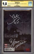 PUNISHER 14 CGC 9.8 SS SIGNED/SKETCH BY JON BERNTHAL + CONWAY SIGNED JOHN ROMITA