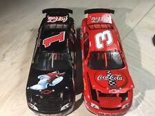 XRARE 2-1:24 Dale Earnhardt Sr & Jr Coca Cola POLAR BEAR 1998 DieCast NASCAR Set