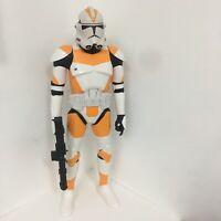 """Star Wars Giant 31"""" Tall 212th Attack Battalion CLONE TROOPER Jakks Pacific RARE"""