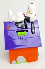 SNOOPY WHITMAN'S CANDY AD Bank Halloween Dracula Vampire PEANUTS Dog House RIP
