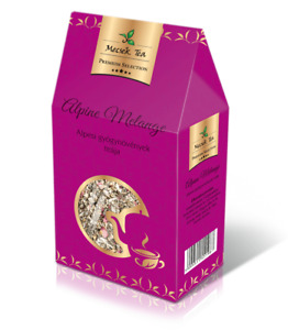Alpine Melange Premium Selection Herbal Tea Blend with Forest Berries and Flower
