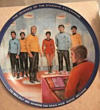 Star Trek BEAM US DOWN, SCOTTY Collectors Plate 1983 Hamilton Collection/Ernst