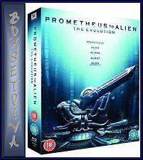 PROMETHEUS TO ALIEN - THE EVOLUTION BOXSET -   **BRAND NEW BLU-RAY*
