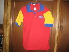1997 National Jamboree Rainbow Polo Shirt, adult medium,      cu110