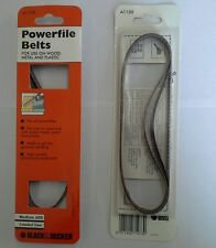 Black & Decker Powerfile Belts - 13mm x 457mm - P60 grit - pack qty 3