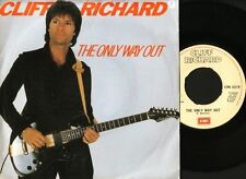 """CLIFF RICHARD the only way out/under the influence EMI 5318 1982 7"""" PS EX/EX noc"""