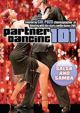 PARTNER DANCING 101 SALSA AND SAMBA (DVD, 2008)