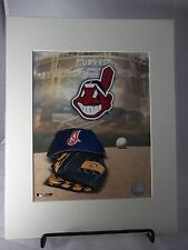 "Cleveland Indians Logo & Jacobs Field  8"" x 10"" Photo  Matted 11"" x 14"""