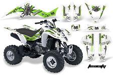 ATV Decal Graphic Kit Wrap For Suzuki LTZ400 Kawasaki KFX400 2003-2008 TOXIC G W
