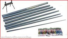 NGT  Ambassador  Pole Large 18 Elastic Fitted 14 Carp Pole Rigs & Roller