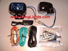Hella Optilux Rectangular Driving Lamps Fog Lights 1402