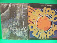 Sir Lord Baltimore 2 RECORD LOT VINTAGE LP Self Titled 1970 Kingdom Come Mercury