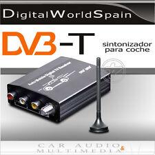 CAR TDT DVB-T COCHE MPEG2 CON ANTENA TDT VIDEO RCA 3 SALIDAS + 3 ENTRADAS