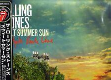 "Rolling stones ""sweet summer sun Hyde park Live"" 3 LP + 3xcd + 2 DVD Japon-Box"