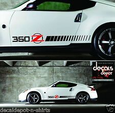NISSAN 350Z or 370Z Rocker Panel Stripes Fits all Year Model, Message for MODEL