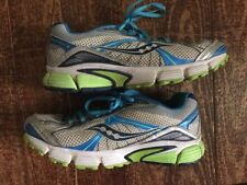 Womens Saucony Ignition 4 Running Cross Training Shoes Size 7 1/2  Blue Silver