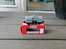 Majorette Rail Route 1/143 Tankwagen grün Mobil Tank & Spaar AS NEW IN BOX