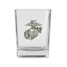 Marine Corps Pewter Emblem Shot Glass IMC-Retail