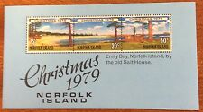 1979 Norfolk  Island christmas mini sheet