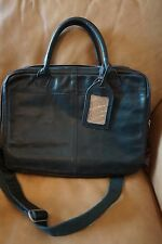 New COWBOYSBAG Amsterdam Leather Briefcase Office Messenger Black Laptop Tablet