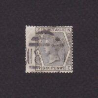 GREAT BRITAIN 1873, Sc# 62 Plate 13, CV$70, wing margin, Wmk Spray of Rose, Used