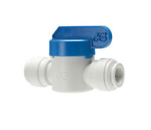 John Guest 12mm In-Line Shutoff Valve Push Fit Pipe Water Connector WS1270