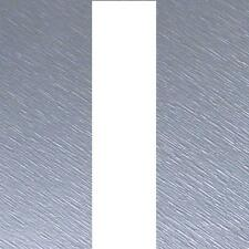 "Brushed SILVER Bonnet Stripes Viper Style 3m(10') x12.5cm(5"") fits VOLVO / SAAB"