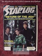 STARLOG April 1983 #69 STAR WARS Jedi ANTHONY DANIELS JAMES KHAN TOM MANKIEWICZ