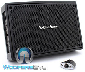 """ROCKFORD FOSGATE PS-8 8"""" COMPACT POWERED ENCLOSED SUBWOOFER SPEAKER AMPLIFIER"""
