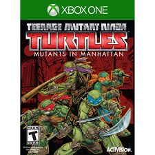 Teenage Mutant Ninja Turtles: Mutants in Manhattan Xbox One [Factory Refurbished