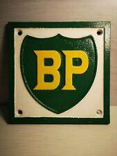 BP - Cast Iron Sign - Britain British Oil - Shell Castrol - Esso