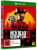 Red Dead Redemption II RDR 2 - Xbox One Game + Map - VGC