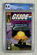 G.I. Joe #112 and #114 Marvel Comics, Metal Head, both CGC 9.4 with White Pages.