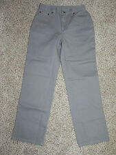 Jeanology Collection Jeans 4P Petite Gray Inseam 28 NWT