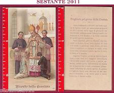 207 SANTINO HOLY CARD RICORDO DELLA CRESIMA