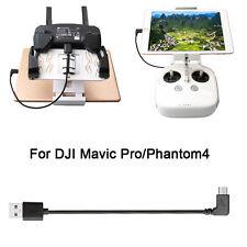 For DJI Mavic Pro Phantom 4  Transmitter Cable Connect Phone Tablet USB Type-C