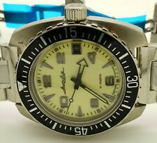 RUSSIAN VOSTOK AMPHIBIA  170891  LUMINOUS DIAL MILITARY DIVER AUTO WRIST WATCH