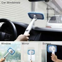 New Microfiber Windshield Clean Car Auto Wiper Cleaner Glass Window Tool Brush