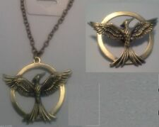 Hunger Games Mockingjay Replica Necklace & Pin Brooch