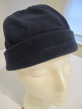 S women kids UNITED COLORS of BENETTON MADE in ITALY fleece cap BEANIE navy BLUE