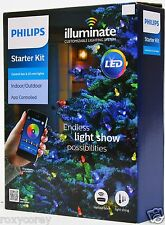 Philips LED Illuminate Starter Kit 25 Mini String Lights & Control Box NIB